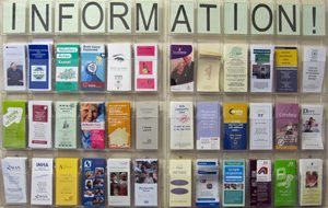 information-leaflets-rack-3