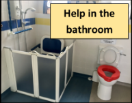 Help in the bathroom