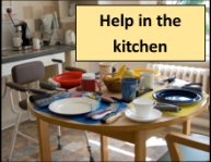 Help in the kitchen